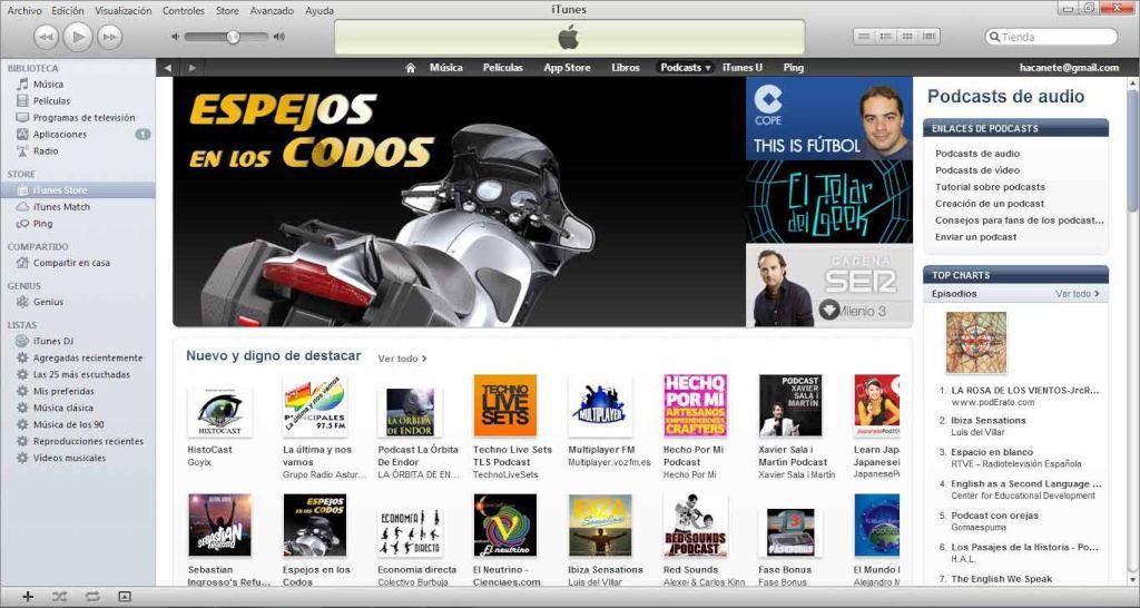 HistoCast, el podcast sugerido nº1 en iTunes