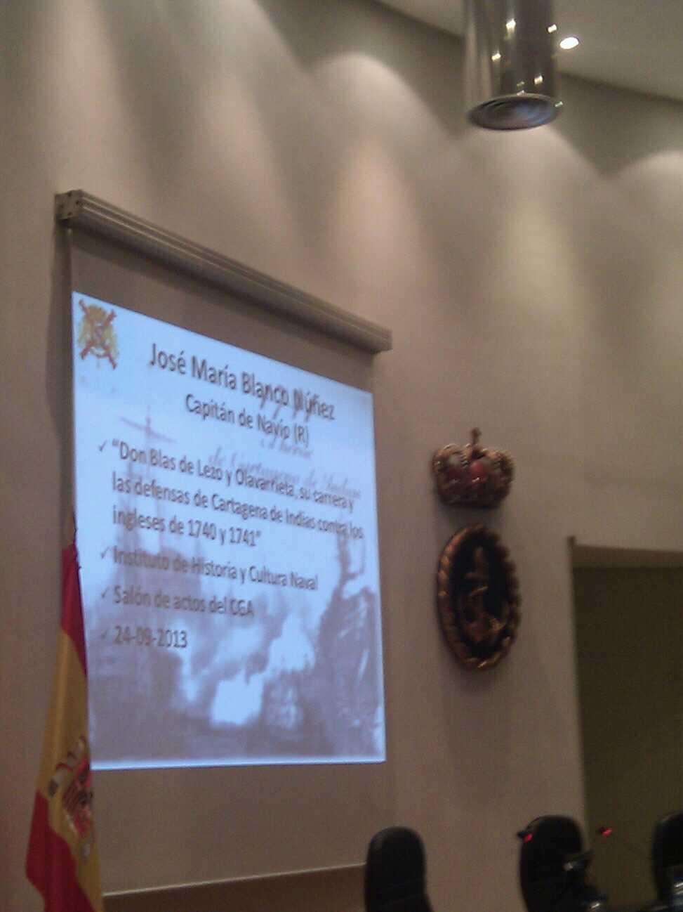 H files 01 – Conferencia de Blas de Lezo en el CGA por JM Blanco