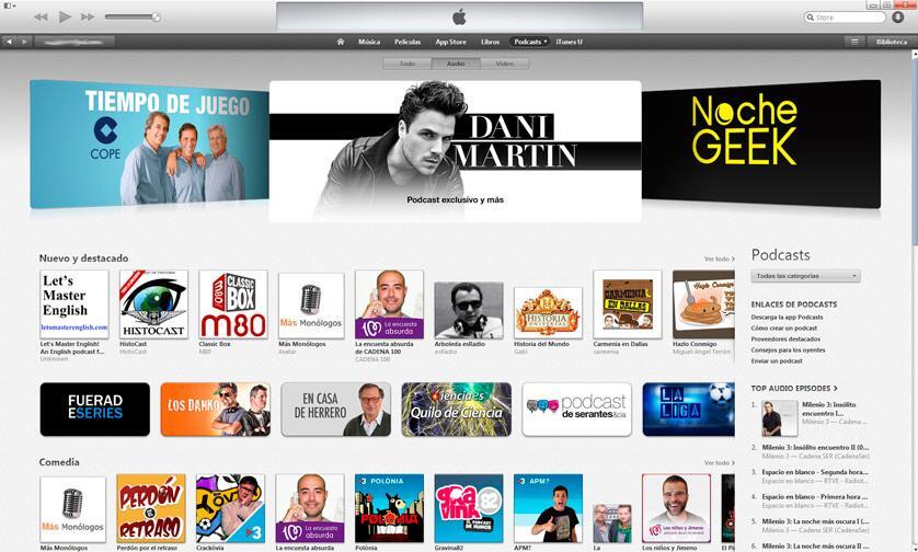 """HistoCast otra vez en """"Nuevo y destacado"""" de iTunes"""