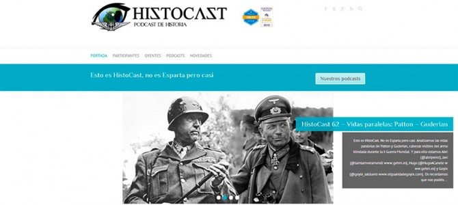 Nuevo diseño responsive de HistoCast.com