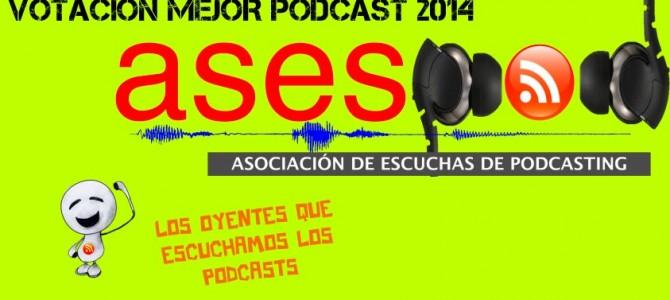 Vota en ASESPOD para el mejor podcast del público de 2014