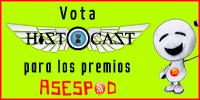 Vota a HistoCast en los premios ASESPOD