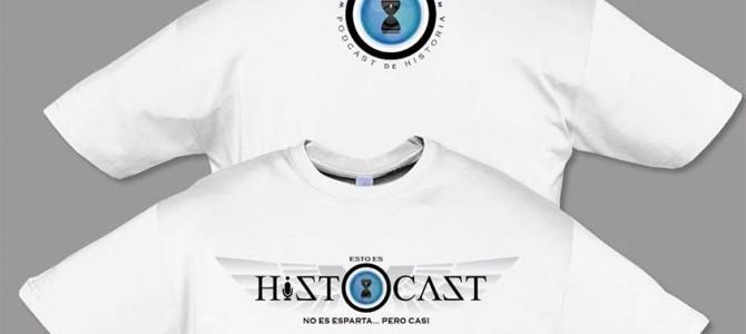 Nueva camiseta con el nuevo logo de HistoCast