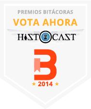Vota HistoCast en los Premios Bitácoras 2014