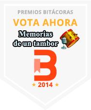 Votar Memorias de un tambor en los Premios Bitácoras 2014