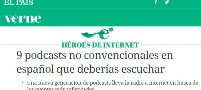 HistoCast recomendado y reseñado en El País
