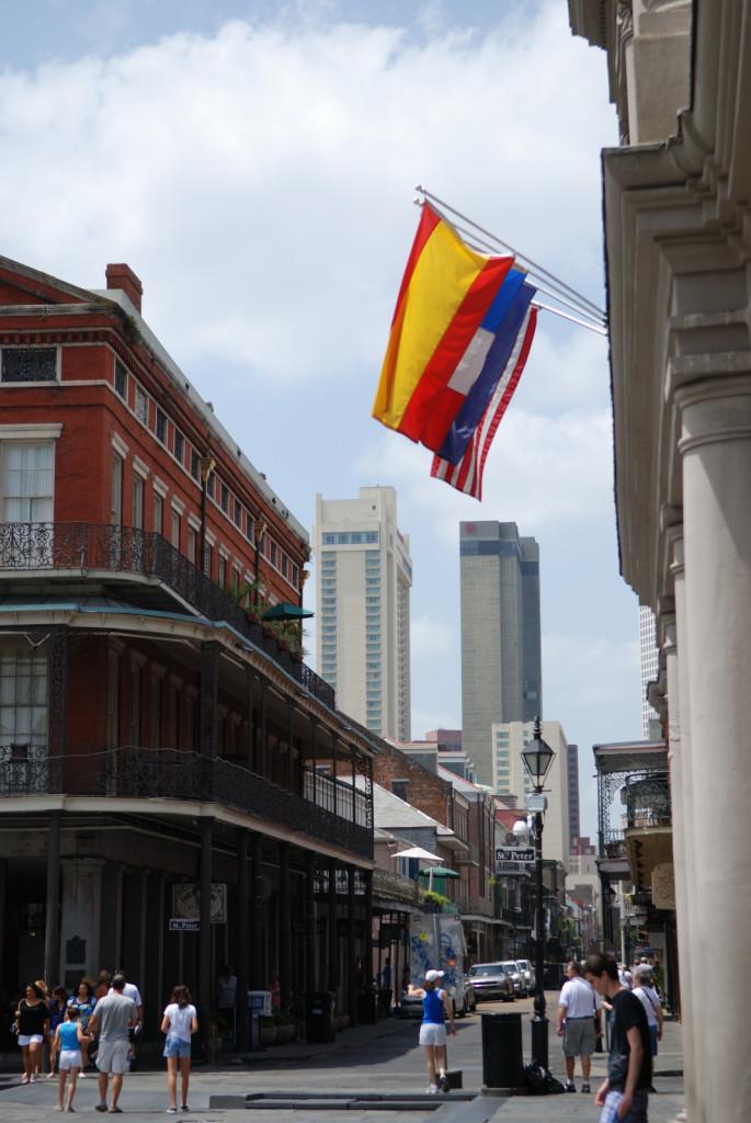 Calles y skyline de Nueva Orleans desde el Cabildo (©goyix_salduero)