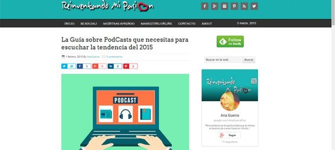 HistoCast en la 'Guía Completa para iniciarse en la escucha de PodCasts 2015'
