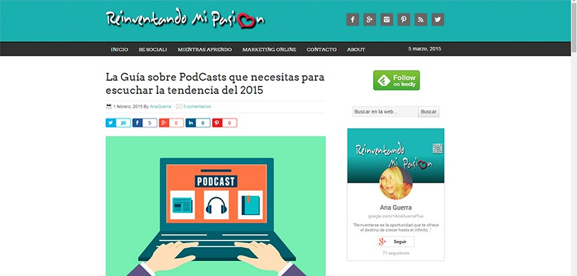 Guía Completa para iniciarse en la escucha de PodCasts 2015