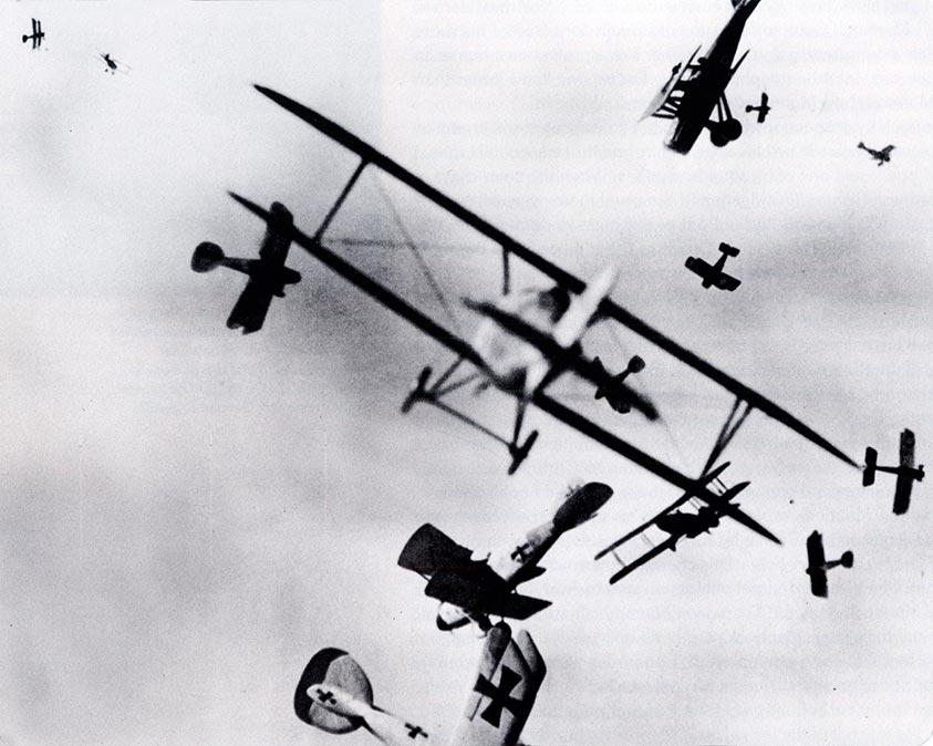 Combate aéreo en la I Guerra Mundial