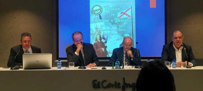 """H files 07 – Presentación de """"Diarios de ofensa y defensa"""" por Francisco Hernando Muñoz Atuesta"""