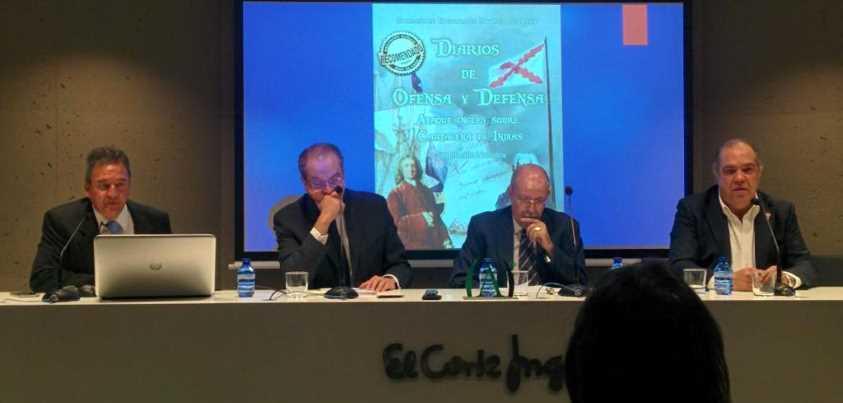 Presentación del libro Diarios de ofensa y defensa