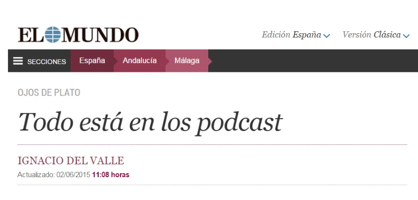 HistoCast en el periódico El Mundo