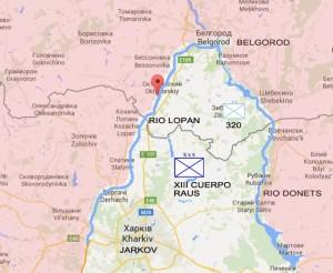Mapa de Belgorod (pincha para ampliar)