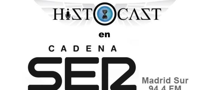 HistoCast en SER Madrid Sur y Norte
