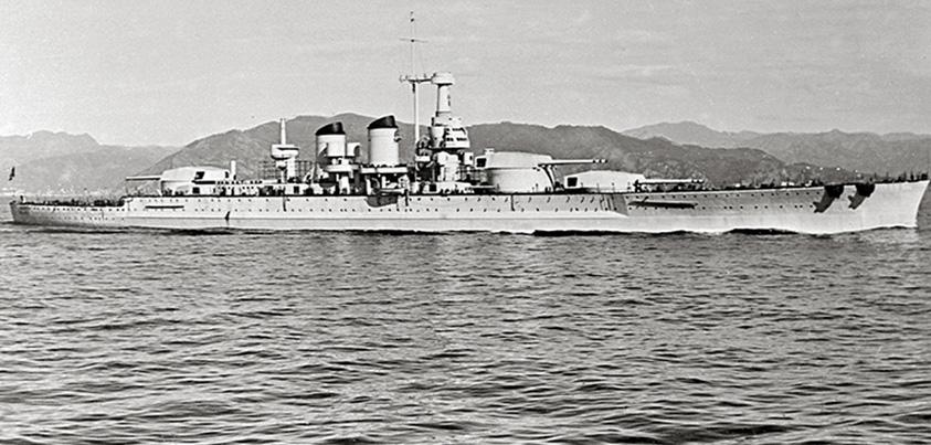Uno de los mejores acorazados de la flota italiana