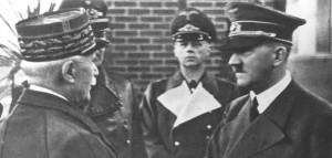Hitler se entrevista con Pétain