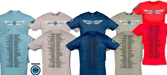 Camisetas conmemorativas de los 100 HistoCast
