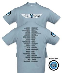 Camiseta azul tilo
