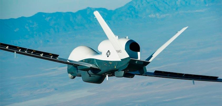 Dron de combate estadounidense