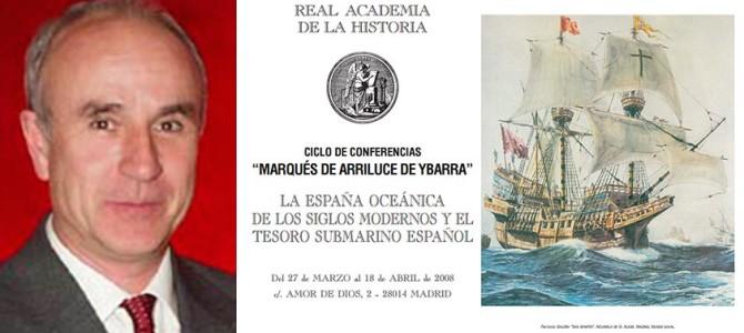 H files 10 – Conferencia 'La arqueología submarina hoy en España' en la RAH por Martín Almagro-Gorbea