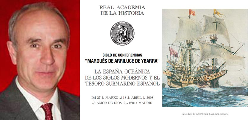 Conferencia La arqueología submarina hoy en España