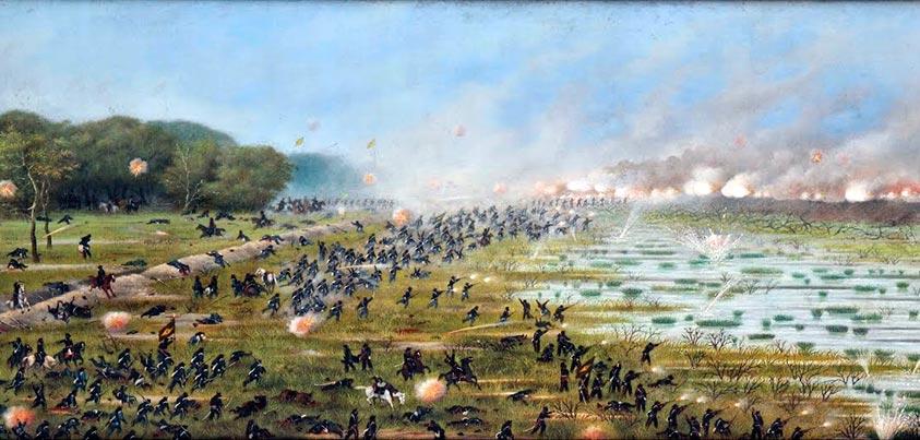 Carga en la batalla de Curupayti