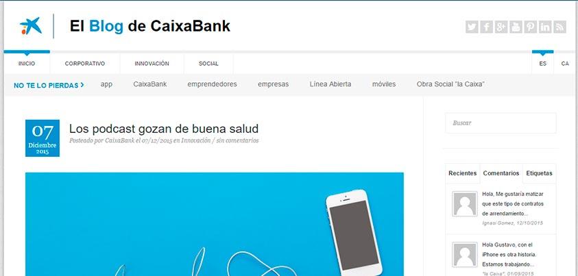 HistoCast en el blog de Caixabank