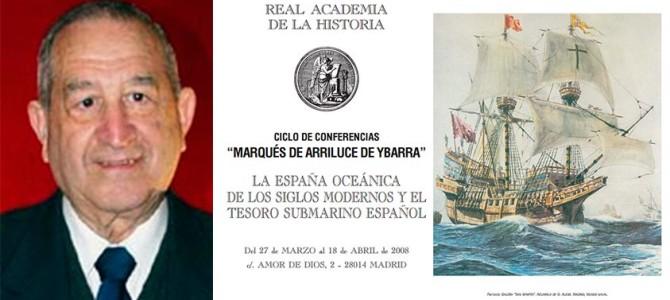 H files 11 – Conferencia 'Las marinas ibéricas en la época de los descubrimientos' en la RAH por Luis Suárez Fernández