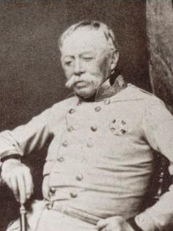 Fotografía del general Joseph Radetzky