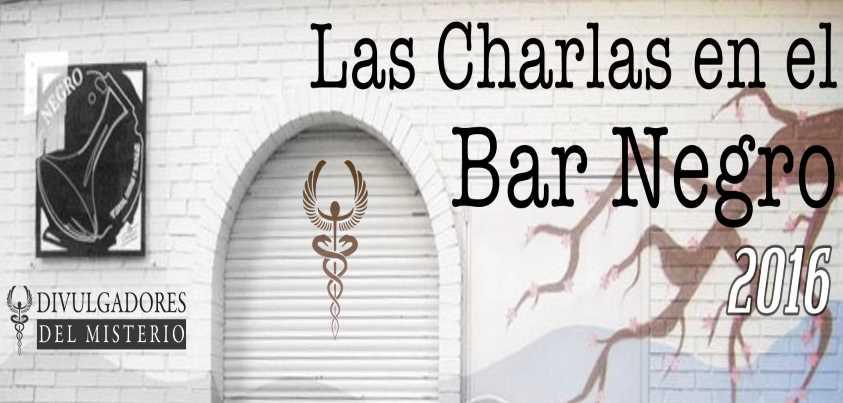 Charlas en el Bar Negro 2016