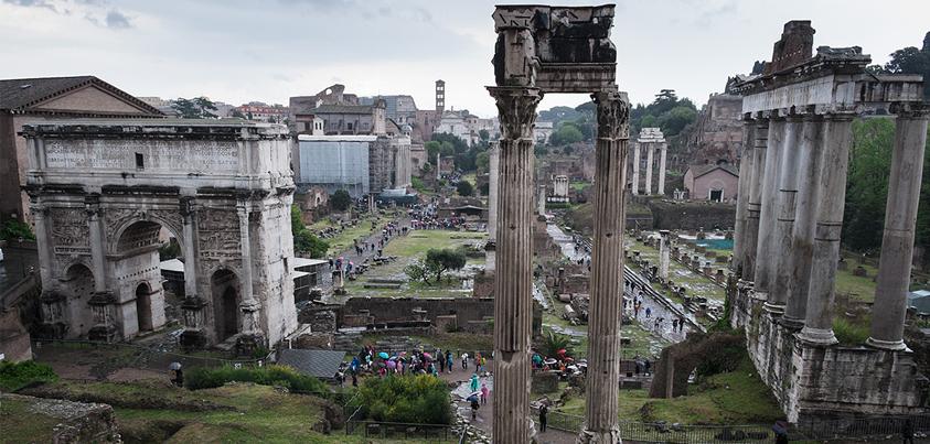 Ruinas de Foro romano