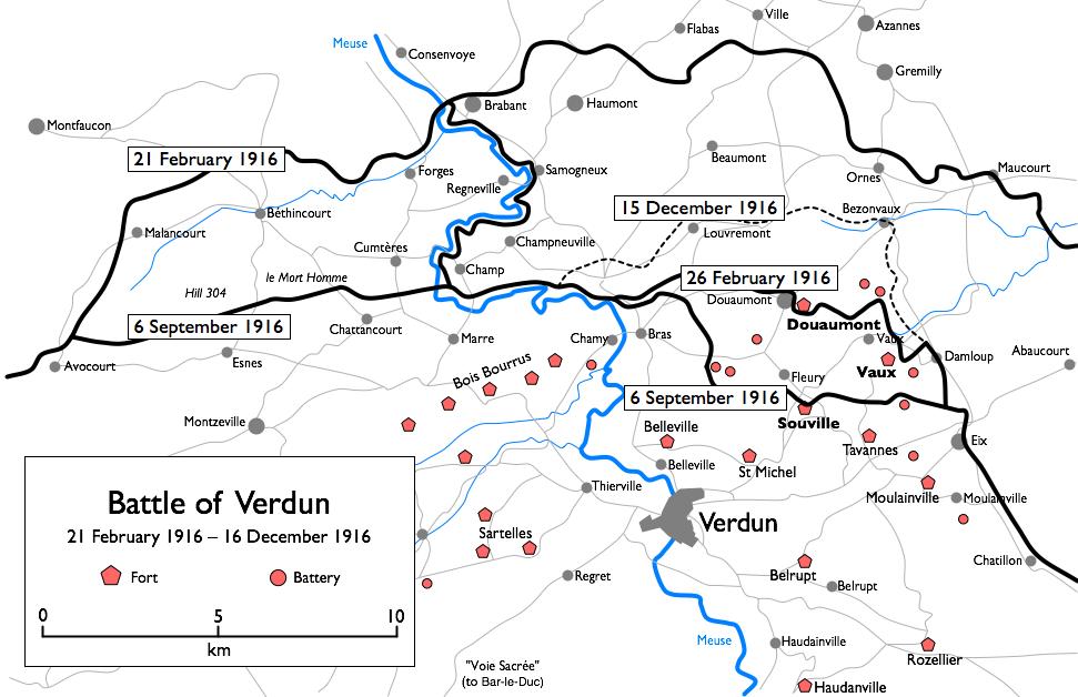 Batalla De Verdun Mapa.Histocast 110 Batalla De Verdun Podcast De Historia