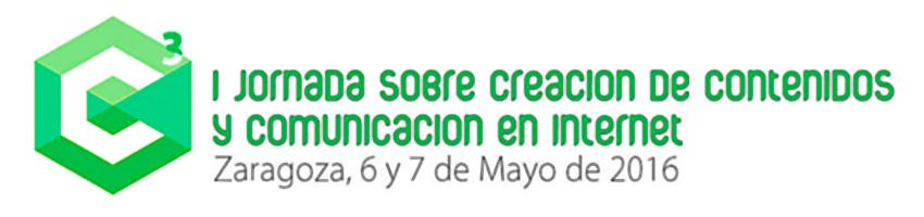 C³ Jornadas sobre Creación de Contenidos y Comunicación en Internet