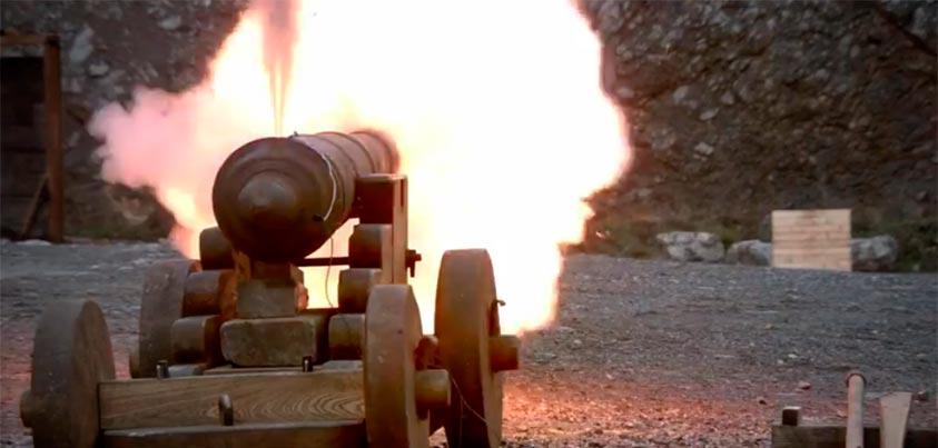 Prueba de cañón del documental de la BBC