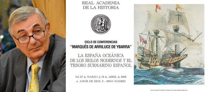 H files 12 – Conferencia 'Las Flotas de Indias y la protección del tráfico atlántico, bajo los Austrias' en la RAH por Carlos Martínez Shaw