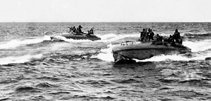 Lanchas torpederas de la Décima Flotilla Mas