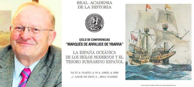 H files 13 – Conferencia 'El pensamiento monetario castellano y la revolución de los precios en la España del siglo XVI' en la RAH por Manuel Jesús González y González