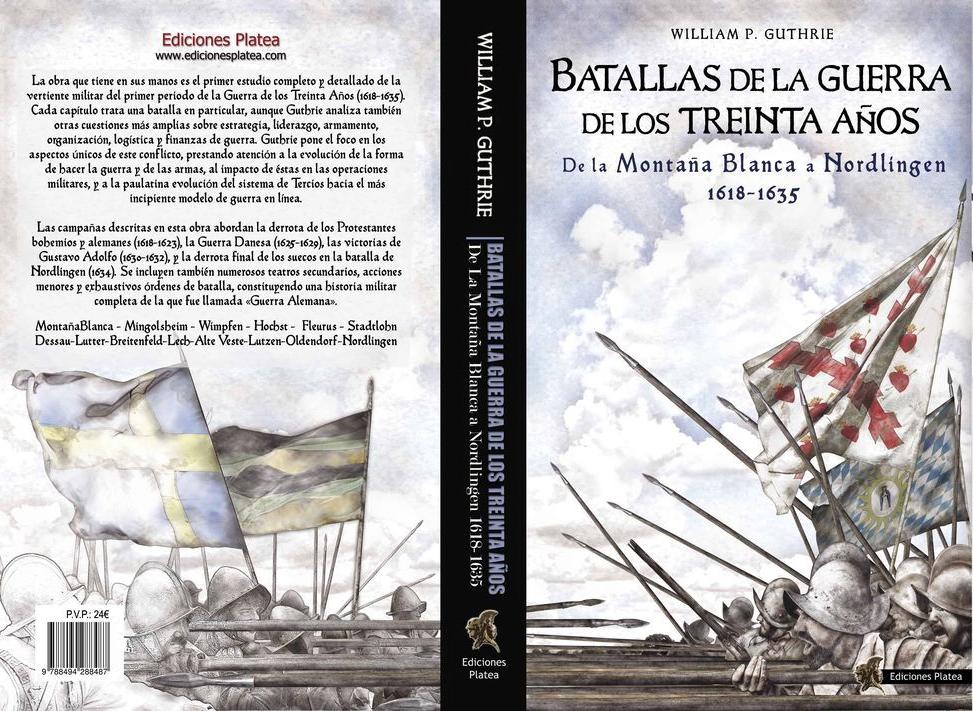 Libro Batallas de la Guerra de los Treinta Años