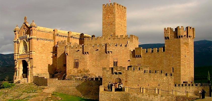 Imagen del Castillo de Javier
