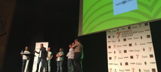 HistoCast gana el premio del público al Mejor Podcast 2016