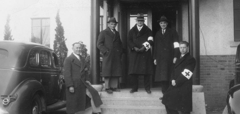 John Rabe y compañeros