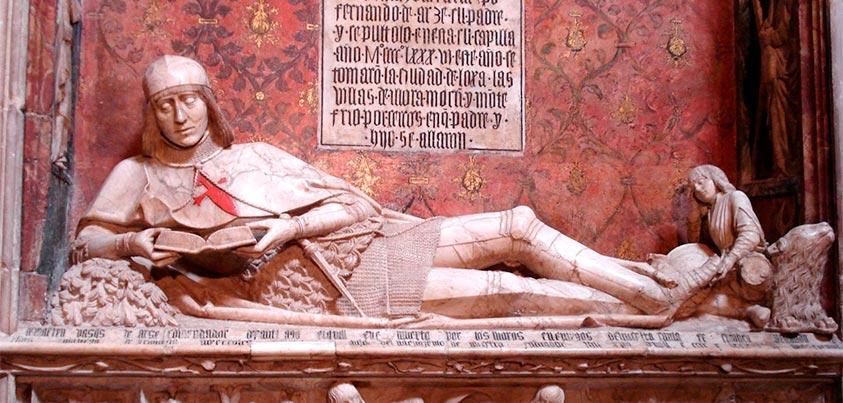 Sepulcro de El doncel de Sigüenza