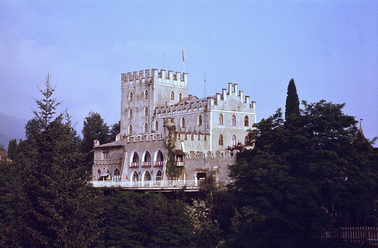Imagen del Castillo de Itter en 1979