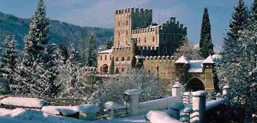 Fotografía del castillo de Itter