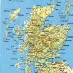Mapa de Escocia (clic para ampliar)