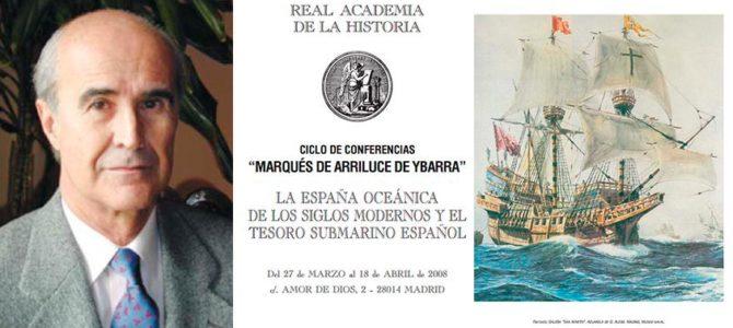 H files 16 – Conferencia 'Las invencibles de Inglaterra y los ataques al imperio español' en la RAH por José Alcalá-Zamora y Queipo de Llano