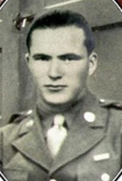 Imagen de Manuel Otero con el uniforme estadounidense