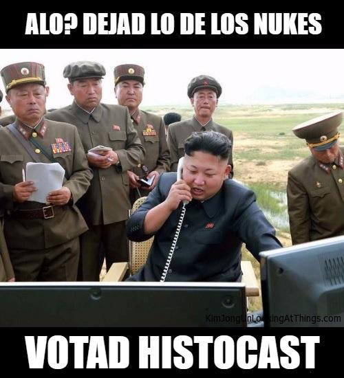 Kim deja los nukes para votar HistoCast