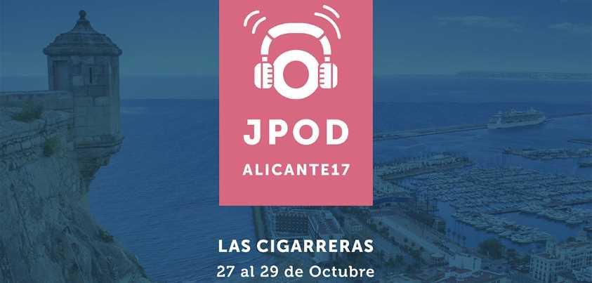 Cartel de las JPOD 2017 en Alicante